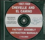 67-69 Chevelle Assembly Manual CD