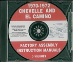 70-72 Chevelle Assembly Manual CD