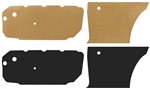 1964-67 Chevelle Door Panel Water Shield Kit
