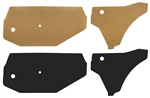1968-72 Chevelle Door Panel Water Shield Kit