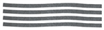 1966-67, 69 Chevelle Dash Vent Ball Seal Kit
