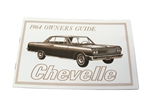 64 Chevelle Factory owner's manual