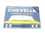 67 Chevelle Factory owner's manual