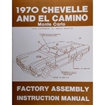 70 Chevelle Factory Assembly Manual