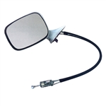 1970-72 Chevelle Remote Exterior Driver Side Rear View Mirror
