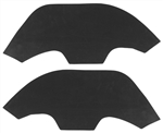"1968-72 Chevelle ""A"" Arm Dust Shields - Plastic Fenders"