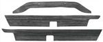 1964-65 Chevelle 4 Piece Rear Bumper to Body Seal