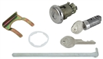 1966 Chevelle Glove Box & Trunk Lock Kit