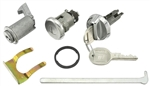1970-72 Chevelle Glove Box & Trunk Lock Kit