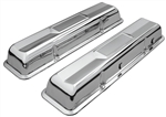 64-68 Chevelle Valve Covers SB Chevy 283 327 Chrome