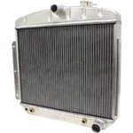 55-57 Chevy BelAir Aluminum Radiator Direct Fit A/T Cooler 6 Cyl. Mount
