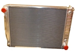 1967-69 Camaro Aluminum Radiator Direct Fit - A/T Cooler Rib Tanks