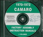 1970-72 Camaro Assembly Manual - On CD