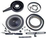 1967-69 Camaro Complete Cowl Induction Kit - Small Block