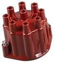 1967-74 Camaro Distributor Cap - Reproduction Red