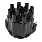 1967-74 Camaro Distributor Cap - Reproduction Black