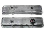 1967-81 Camaro Finned Aluminum Valve Cover Set