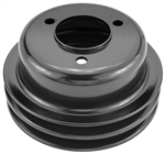 1969-81 Camaro Crank Pulley - 2 Groove Big Block