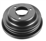 1969-81 Camaro Crank Pulley - 3 Groove Big Block w/ AC
