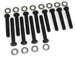 1967-81 Camaro OEM Exhaust Manifold Bolt Set- SB w/ Washers