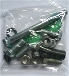 1965-1968 Chevelle Alternator Bolt Hardware Kit BBC