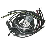 80-82 Corvette Headlight Headlamp & Wiper Door Vacuum Hose Kit