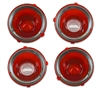 1970-1973 Camaro Standard Tail Lamp Lens Kit