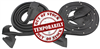 69-72 Chevelle Door Opening Weatherstrip Coupe / Convertible pair