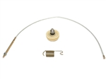 65-82 Corvette Emergency Brake Cable Front