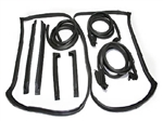 73-77 Corvette Weatherstrip Coupe Kit 9 pc.