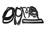 84-89 Corvette Weatherstrip Coupe Kit 7 pc.