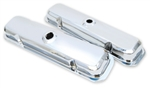 Pontiac V/8 326-455 Chrome Valve Covers Correct Reproduction 1967-1981