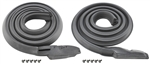 66-67 Chevelle Roof Rail Weatherstrip Coupe Pair