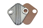 Die Cast Aluminum Fuel Block Off Plate BB Chevy 396-454