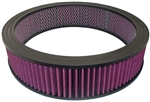 Washable Air Cleaner Filter 14x3 Red / Purple