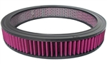 Washable Air Cleaner Filter 14x2 Red / Purple