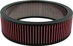 Washable Air Cleaner Filter 14x4 Red