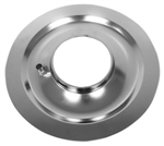 "Air Cleaner Base 14"" Chrome Flat Base"