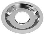 "Air Cleaner Base 14"" Chrome Recessed Base"