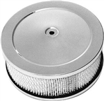 "Chrome 6"" Air Cleaner ""Muscle Style"""