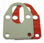 Chrome Steel Fuel Mounting Plate SB Chevy 283-400