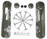 Mopar V/8 Chrome Engine Dress Up Kit 273-340 Stock Height