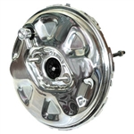 Chrome Power Brake Booster GM Delco Style 11""