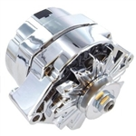 Chrome Alternator 100 AMP GM Chevy