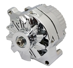 Chrome Alternator 100 AMP GM Ford