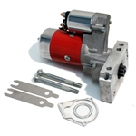 CHEVY SMALL BLOCK/BIG BLOCK 3HP TILTON STYLE HIGH TORQUE GEAR REDUCTION RACING STARTER - RED