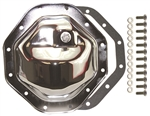 "Chrome Steel Rear End Differential Cover Ram 9.25"" Kit"