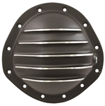 Black Aluminum Rear End Cover GM 12 Bolt