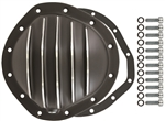 Black Aluminum Rear End Cover GM 12 Bolt Kit