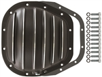Black Aluminum Rear End Cover Ford 12 Bolt Kit